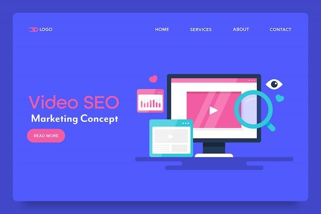 Video marketing e concetto di seo