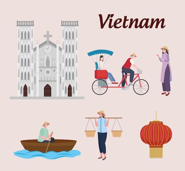 Icone culturali del vietnam