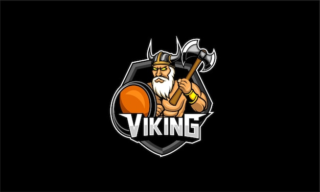 Viking esport logo gaming