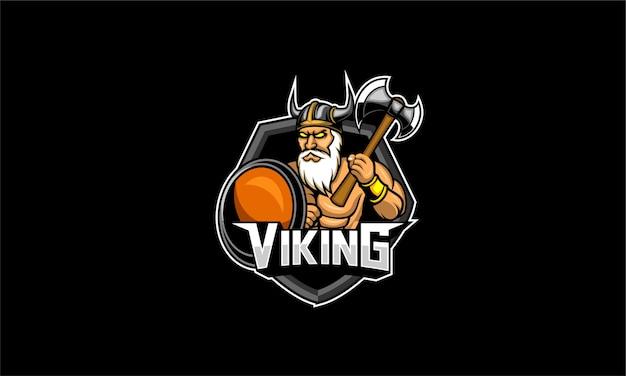 Viking esport logo gaming