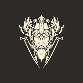 Illustrazione dell'emblema della spada vichinga
