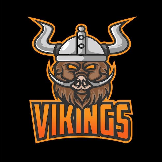 Logo di vikings esport