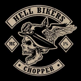 Emblema di biciclette d'epoca