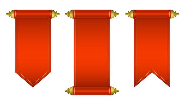 Illustrazione d'annata di progettazione del rotolo della carta in bianco isolata su fondo bianco