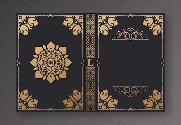 Layout e design del libro vintage