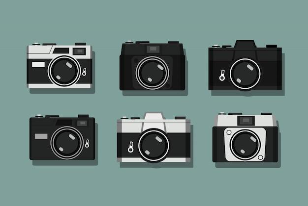 Collezione di macchine fotografiche vintage