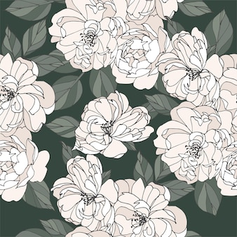 Carta d'epoca con fiori di rosa. corona floreale. cornice floreale per negozio di fiori con disegni di etichette. cartolina d'auguri di estate floreale rosa. sfondo di fiori per il confezionamento di cosmetici.