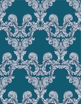 Vintage classico pattern background illustrazioni vettoriali