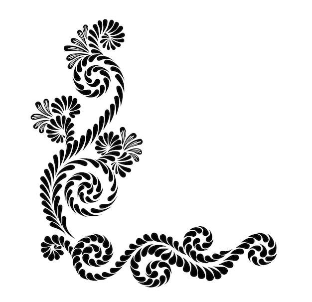 Bordi calligrafici decorativi vintage modello segnaletica loghi etichette carte adesive