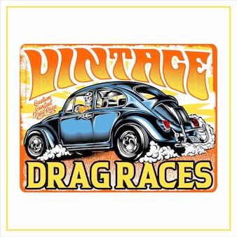 Vintage dragraces