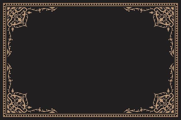 Cornice d'epoca con ornamento