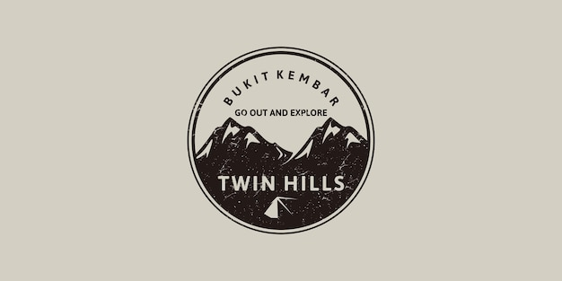 Ispirazione al logo vintage per il branding