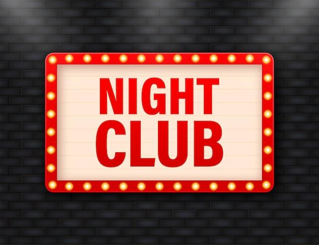Lightbox vintage per night club