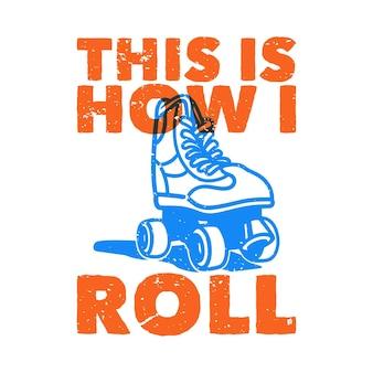 Tipografia con slogan vintage, ecco come mi rotolo per il design della maglietta