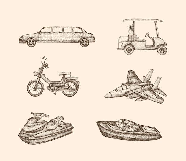 Collezione di veicoli d'epoca