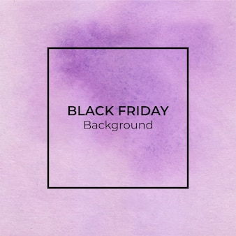 Priorità bassa astratta dell'acquerello viola blackfriday