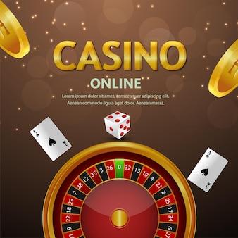 Vip lusso gioco casinò online gioco d'azzardo sfondo