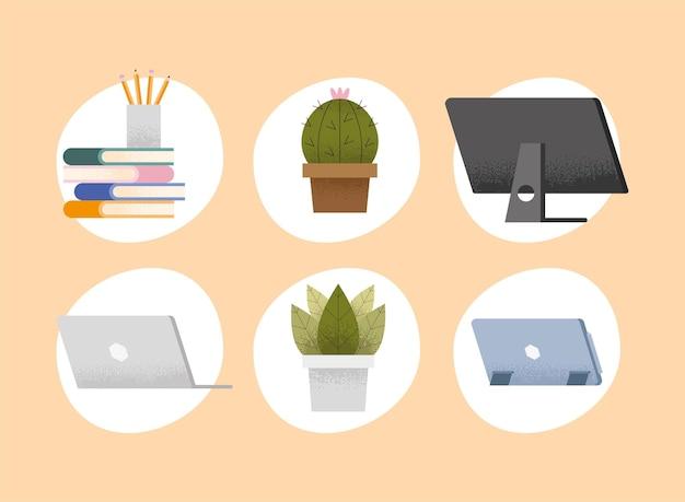 Forniture per lezioni virtuali