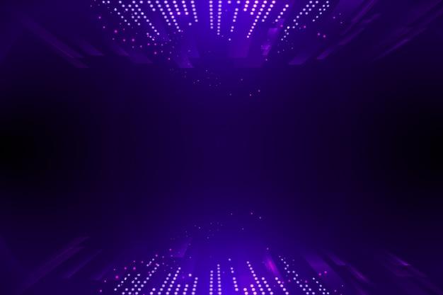 Sfondo virtuale di punti e particelle