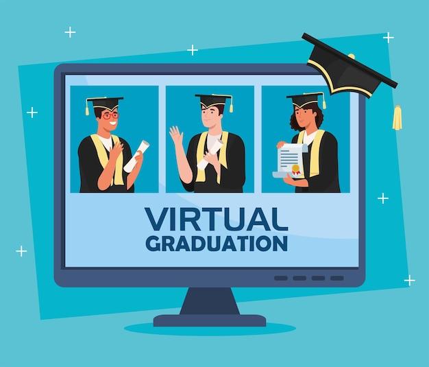 Scena di laurea virtuale