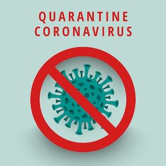 Illustrazione di corona di virus