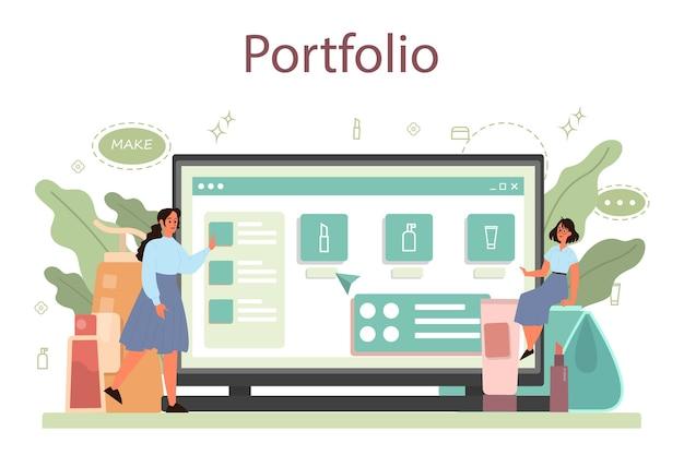 Servizio o piattaforma online visagiste