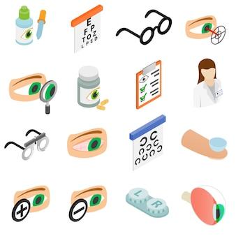 Set di icone di correzione della vista