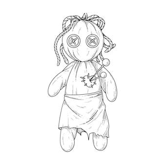 Bambola voodoo.