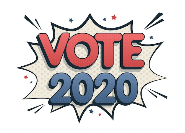 Vota il fumetto 2020 negli stati uniti.