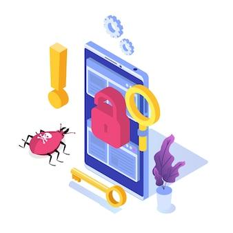 Ricerca di vulnerabilità e bug, individuazione del concetto di malware.