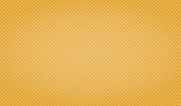 Waffle yellow. trama wafer.