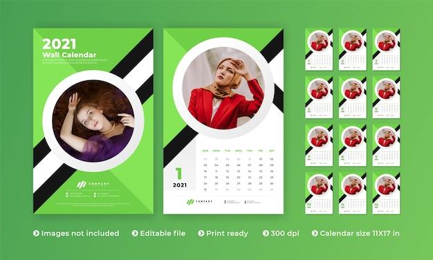 Calendario da parete moderno