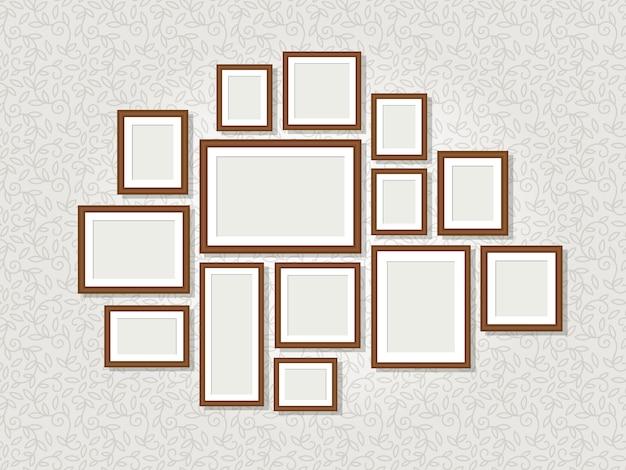 Cornici per foto a parete