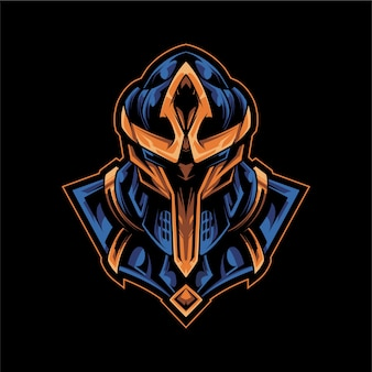Warrior armor logo esport