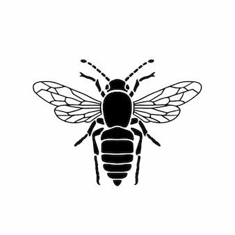 Vespa logo simbolo stencil design tattoo vector illustration