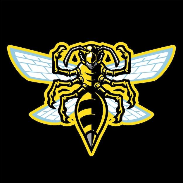 Mascotte della vespa