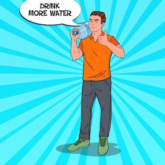 Illustrazione del servizio di consegna dell'acqua