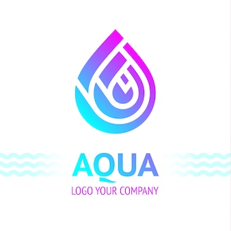 Simbolo di goccia d'acqua
