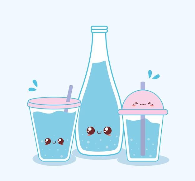 Gruppo bicchieri da acqua