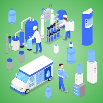 Stazione di purificazione dell'acqua