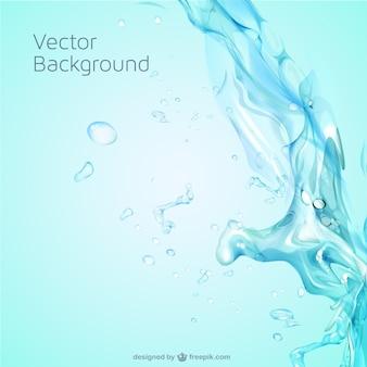 Spruzzi d'acqua template vettoriali gratis Vettore Premium