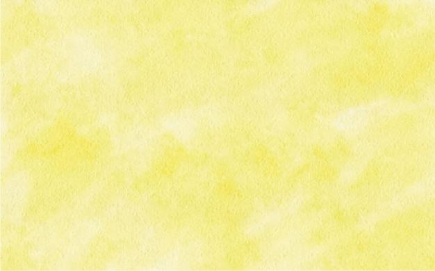 Illustrazione di sfondo di colore giallo sfumato astratto dell'acquerello