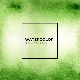 Fondo astratto di struttura di colore verde dell'acquerello,