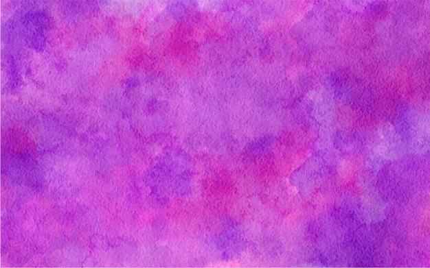 Illustrazione di sfondo di colore rosa viola astratto dell'acquerello