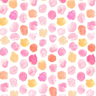 Acquerello dotty seamless pattern