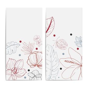 Scenografia del modello di carta fiore dell'acquerello