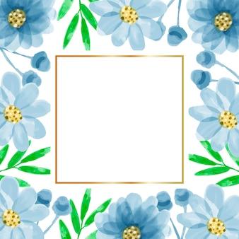 Priorità bassa della struttura del fiore dell'acquerello
