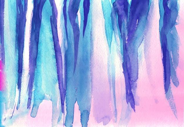 Acquerello rosa, viola, blu colori di sfondo, trama colorata di carta da acquerello