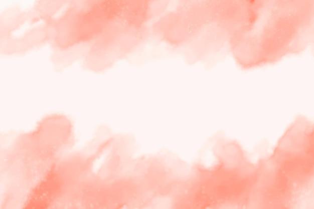 Acquerello rosa macchie sfondo astratto