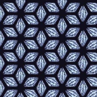 Modello shibori dell'acquerello